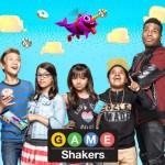 Como se llaman los personajes de Game Shakers