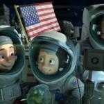 Como se llaman los personajes de Una familia espacial
