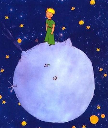 Como se llama el asteroide donde vive El Principito