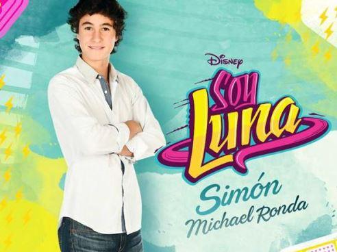 Como se llama el que hace de Simon en Soy Luna