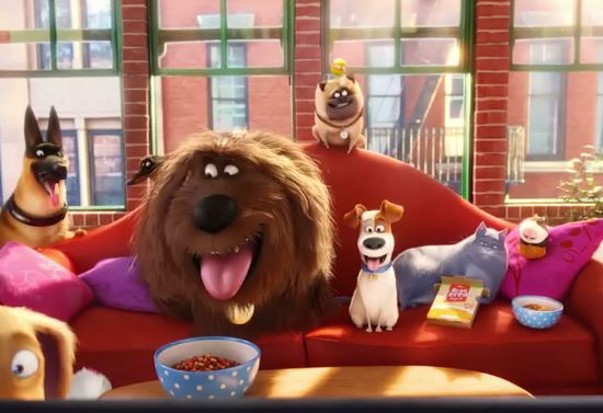 Nombre de todos los personajes de La vida secreta de tus mascotas