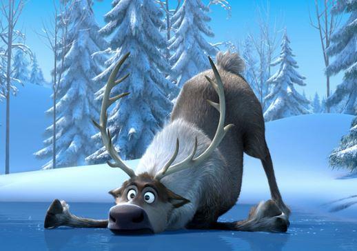Como se llama el venado de Frozen
