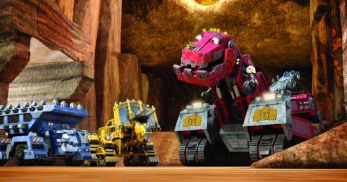 Personajes de Dinotrux nombres