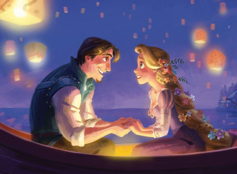 Como se llama el novio de Rapunzel en Enredados