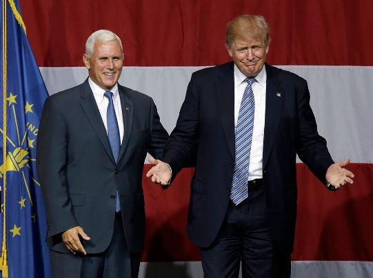 Como se llama el vice de Trump