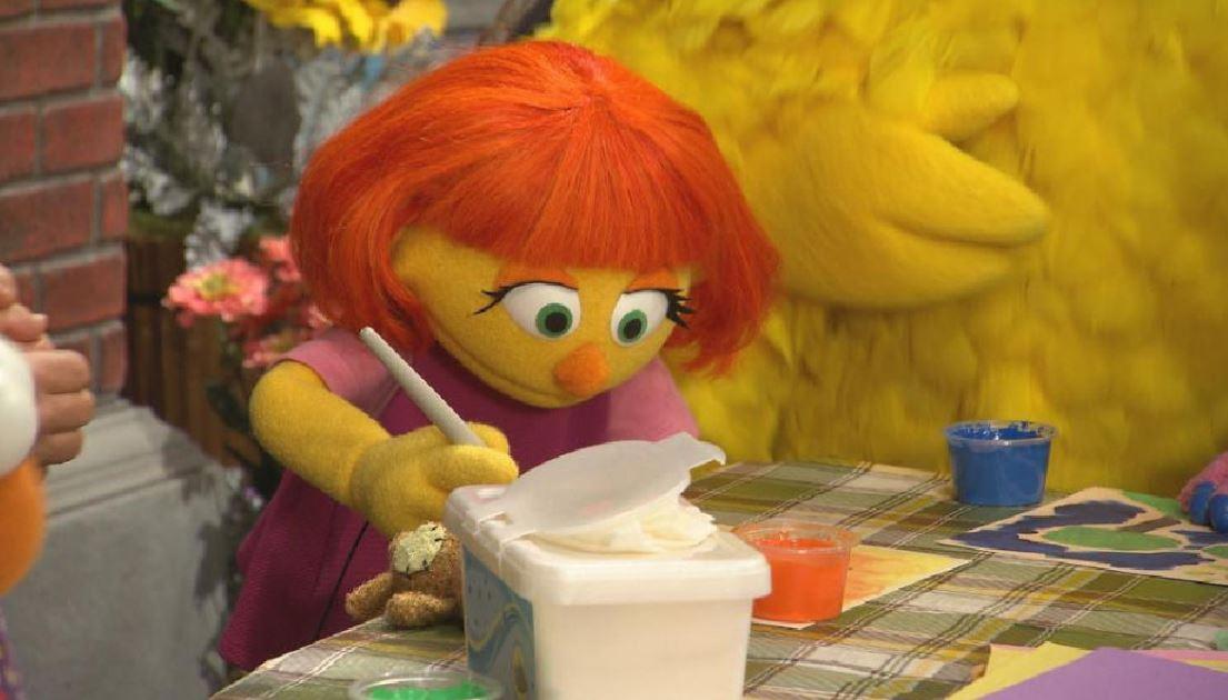 muppet con autismo
