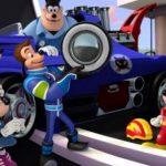 Como se llaman los personajes de Mickey aventuras sobre ruedas