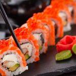 Como se llama la cosa naranja del sushi