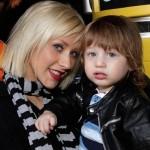 Como se llama el hijo de Christina Aguilera