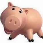 Como se llama el cerdito rosa de Toy Story