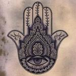 Como se llama la mano con un ojo