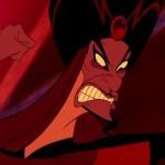 Como se llama el personaje malvado de Aladdin